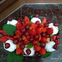 Клубнично-черешневая корзина, в Казани
