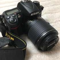 Продам Nikon d7000 с объективом AF S Nikkor 55-200 mm, в Нижнем Новгороде