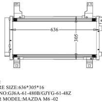 Продам радиатор кондиционера на MAZDA ATENZA, MAZDA 6, в Владивостоке