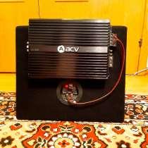 Автомобильный усилитель ACV LX-4.60, 4 канальный, в Санкт-Петербурге