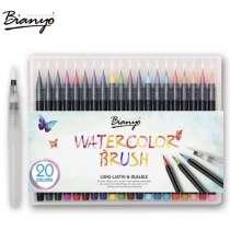 Набор акварельных маркеров WaterColor Brush Pen, 20 цветов, в Зеленограде