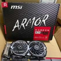 MSI XFX AMD Radeon RX 580 ARMOR 4G 8G OC Used Gaming Graphic, в Санкт-Петербурге
