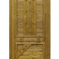Двери и мебель из состаренного массива сосны, в Шахунье