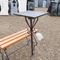 Изготовление и установка столика лавочки на могулу Солигорс, в г.Солигорск