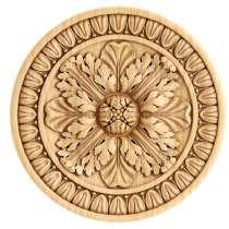 Резная розетка из массива дерева (200х200х19), в Иванове