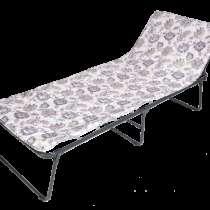 Раскладушка (Кровать раскладная Надин 2) новая, в Краснодаре