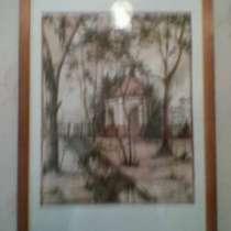 Картина, акварель, в Уфе