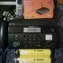 Тефон Simens, факс Panasonic + роутер, в Мурманске