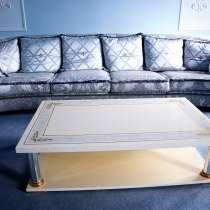 Большой диван Turri и журнальный столик Турри комплектом, в Москве