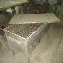 Коптильня горячего копчения из толстого металла, в Самаре