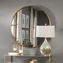 Зеркало круглое в золотой раме 60 см Heraldic, в г.Минск