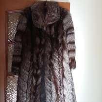 Продам шубу из чернобурки и осенние пальто размер 48-50, в Томске