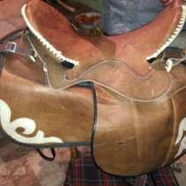 Седло из натуральной кожи в комплекте, в г.Талдыкорган