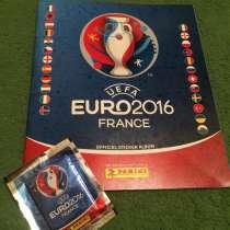 Коллекция наклеек Panini UEFA EURO 2016 (альбом+блок), в г.Днепропетровск