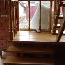 Деревянные лестницы под ключ, по эскизам, в г.Минск