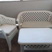 Комплект садовой мебели, в г.Тиват