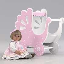 Коляска для куклы. Игрушка для девочки от 1 года, в Москве