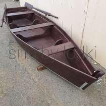 Деревянная лодка, в Казани