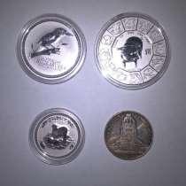 Продам Серебренные монеты, в Тольятти