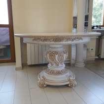 Стол круглый d= 800-1200 (раскладной), в Новокузнецке
