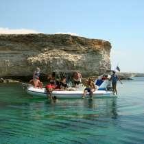 Экскурсии по морю катером. Дайвинг, в Евпатории