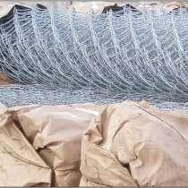 Сетка Рабица оцинкованная в рулонах, в Морозовске