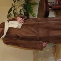 Новая норковая шуба с беретом, длинная, в Тольятти