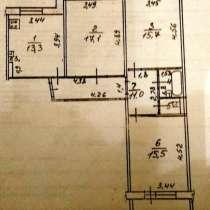 3х комнатная квартира, в Рузе