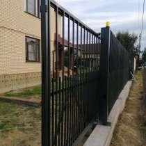 Откатные ворота под ключ, в Обнинске