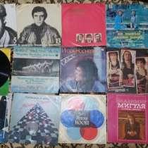 Продам виниловые пластинки (разные размеры), в г.Тирасполь