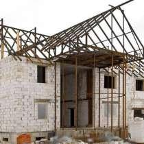 Строительно-монтажные и отделочные работы домов, в Пушкино