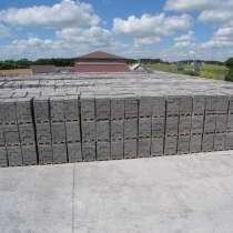 Блоки керамзитобетонные, фундаментные и полублоки, в Белгороде