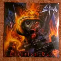 SODOM - Decision - 2016 Germany 2LP+CD S/S, в Москве