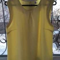 Майка-блузка желтого цвета, в Чите