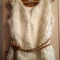 Selling white faux fur vest, в г.Чикаго