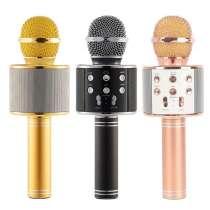 Беспроводной Караоке Микрофон WS-858, в Ростове-на-Дону