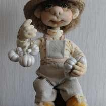 Кукла-оберег Домовенок Проша высота 28см цена 1800+доставка, в Челябинске