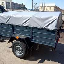 Купить одноосный бортовой прицеп от завода, в г.Скадовск