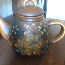 Чайник керамический заварочный декоративный, в Химках