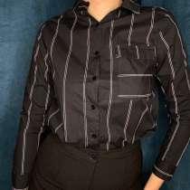 Блузка в полоску, в Салехарде