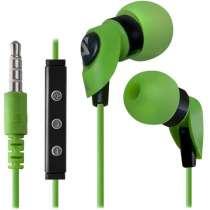 Гарнитура проводная для мобильного телефона Defender PULSE 455 зеленый 63455, в г.Тирасполь