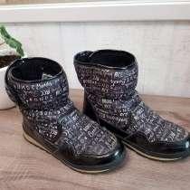 Ботинки зимние для девочки раз.36 б/у, в Саратове