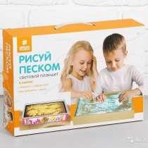 Детский светящийся планшет воображай песком, в Москве