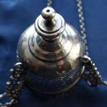 Лампада церковная серебряная. Москва, 1890-е гг, в Санкт-Петербурге