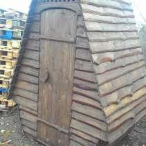 Туалет деревянный, в Волгограде