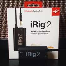 IRig 2 + 10 (+2) платных приложений в подарок, в Москве