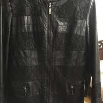 Кожаная куртка 50 размер, в Кизилюрте