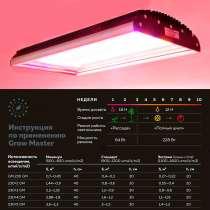 Светодиодный светильник для гроубоксов, в Челябинске