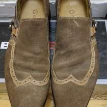 Туфли кожаные замшевые, в Лыткарино