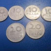 Венгрия. 6 монет, в Москве
